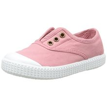 victoria Unisex-Kinder Inglesa Lona Tintada Punt. Lauflernschuhe Sneakers, Pink (170 Nude), 29 EU