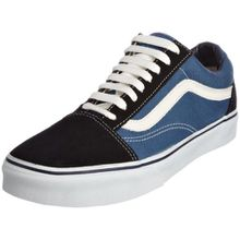 VANS Unisex-Erwachsene Old Skool Sneakers, Colour is Blue (Navy), 44 EU