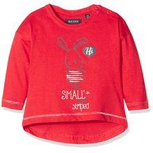 Blue Seven Baby-Mädchen T-Shirt 950524 X, Rot (Hochrot ORIG 332), 74
