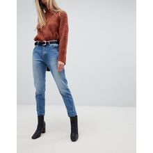 Dr Denim - Pepper - Mom-Jeans mit hohem Taillenbund - Blau