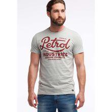 Petrol Industries MEN T-Shirt grau Herren