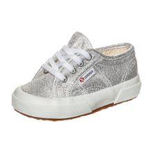 SUPERGA Sneaker 'Lameb' silber