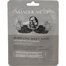 Masque Me Up Pflege Gesichtspflege Bubbeling Sheet Mask 25 ml