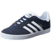 adidas Unisex-Kinder Gazelle Sneakers, Blau (Collegiate Navy/Footwear White/Footwear White), 38 EU