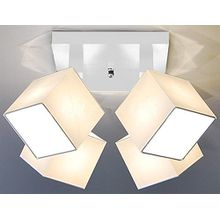 Designer Decken Leuchte Lampe Spot Deckenleuchte Strahler Salon Hotel Bar Theke E27 LED Bern 27a (Sockelfarbe: weiss)