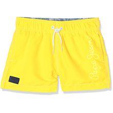 Pepe Jeans Jungen Einteiler Guido, Gelb (Bright Yellow), 10 Jahre (Herstellergröße: 10)