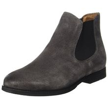 SELECTED FEMME Damen Sfbeathe Chelsea Suede Boot, Grau (Grey), 39 EU