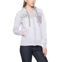 Geographical Norway Damen Sweater Gwen Lady, Weiß (White), Large (Herstellergröße: 3)