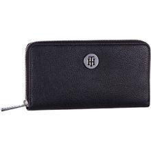 Tommy Hilfiger Kellnerbörse TH Core LRG ZA Wallet 5751 Black/Silver Filigree