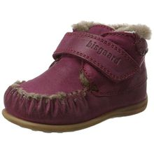 Bisgaard Unisex-Kinder Lauflerner Mokassin Boots, Pink (4002 Pink), 23 EU
