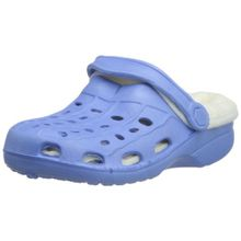 Playshoes EVA-Clog gefüttert 171728, Unisex-Kinder Clogs & Pantoletten, Blau (bleu 17), EU 24/25