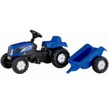 ROLLYTOYS Trettraktor New Holland