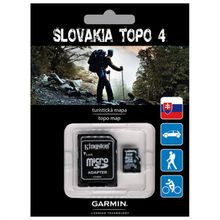 Garmin - Topo Slowakei V4 schwarz