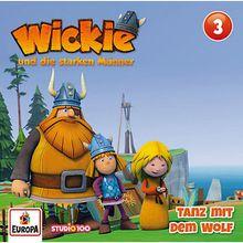 CD Wickie 3 - Tanz mit dem Wolf Hörbuch