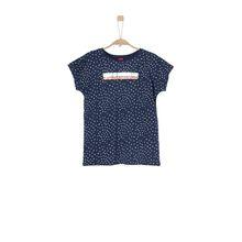 S.Oliver Junior Layer-Shirt mit Glamour-Artwork nachtblau