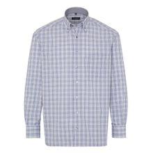 ETERNA Hemd blau / grau
