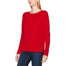 Brax Damen Pullover 37-5177, Rot (Vibrant Red 47), 36