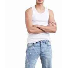 Levis Tank Top - weißes T-Shirt mit Kurzarm
