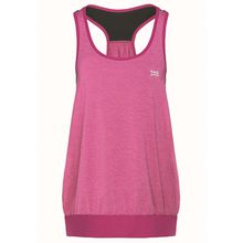 TAO Sportswear Atmungsaktives Damen Funktions Oberteil ohne Arm TANK TOP Funktionsshirts blau Damen