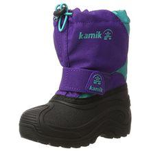 Kamik Mädchen Snowfox Schneestiefel, Violett (Purple/Teal-Violet/Sarcelle), 25 EU