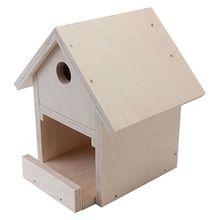 Holzbausatz Vogelhaus