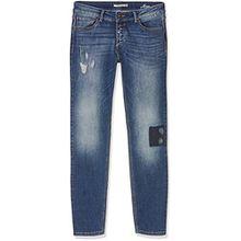 H.I.S Jeans Damen Skinny Jeans Monroe, Blau, Blau (Greatest 9714), W29/L31 (38/31)