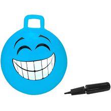 Hüpfball Smile blau 450mm