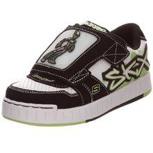 Skechers Nollies Meteorite 90378L WBLM, Kinder Sneaker, weiss, (WBLM), EU 35