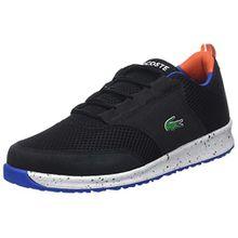 Lacoste Unisex-Kinder L.Ight 118 2 SPJ Sneaker, Schwarz (Blk/Orange), 38 EU