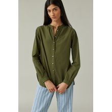 CLOSED Long Blouse jungle