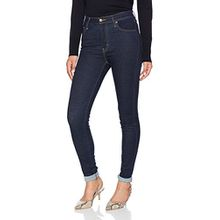 Levi's Damen Jeans Mile High Super Skinny, Grau (High Society 0027), W27/L32