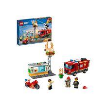 LEGO® Feuerwehreinsatz im Burger-Restaurant (60214), »LEGO® City«