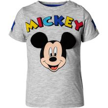 DISNEY T-Shirt 'Disney Mickey Mouse & friends' grau
