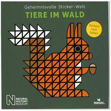 Buch - Geheimnisvolle Sticker-Welt: Tiere im Wald