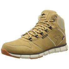 KangaROOS Unisex-Erwachsene K-Bluerun 8023 Hohe Sneaker, Beige (Wheat 140), 45 EU