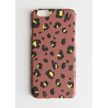 Hard Leopard iPhone Case - Red