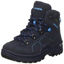 Lowa Unisex-Kinder Kody Iii GTX Mid J Trekking-& Wanderstiefel, Blau (Navy/Türkis 6969), 31 EU