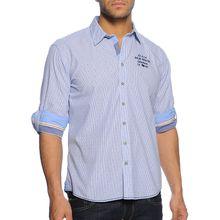 Milano Hemd Regular Fit in blau für Herren