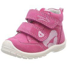 Superfit Baby Mädchen Softtippo Sneaker, Pink (Pink Kombi), 24 EU