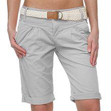 Fresh Made Damen Shorts light grey L