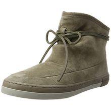 Hub Damen Queen Boot N30 Hohe Sneaker, Beige (Dark Taupe/Dark Taupe-Cool Taupe), 38 EU