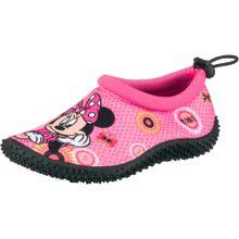 DISNEY Badeschuhe 'Minnie Mouse' mischfarben / pink