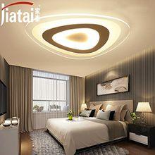 Cttsb Deckenleuchte nach der modernen LED-kreative Schlafzimmer leuchten modernes Wohnzimmer Beleuchtung personalisierte kunst studie Beleuchtung, 43 cm 3-Color Light