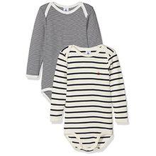 Petit Bateau Unisex Baby Formender Lot Body ml, 2er Pack, Mehrfarbig (Special Lot 00 00), 74 (Herstellergröße: 9m/71cm)