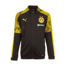 PUMA Trainingsjacke 'Borussia Dortmund Poly' gelb / schwarz