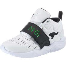 KangaROOS Sneakers High Blinkies KANGABLASTER für Jungen weiß Junge