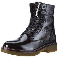 BULLBOXER Damen Lace-up Boots Combat, Schwarz (Black), 38 EU