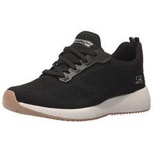 Skechers Damen Bobs Squad-Photo Frame Slip on Sneaker, Schwarz (Black), 40 EU