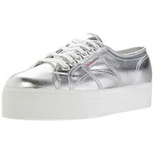 Superga 2790 COTMETW, Damen Sneakers, Silber (Silver), 39 EU(5.5 UK)