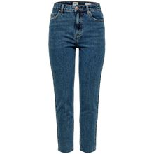 Only High-waist-Jeans »EMILY« im trendy Mom-Style in Stonewashed-Optik